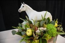 Decorating with Breyer / Breyer models aren't simply toys. They also can make lovely home accent pieces!