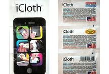 About iCloth / #1 way to clean your electronics (Just ask our customers)! Please help us get the word out!  We want to know what you think   www.iclothproducts.com