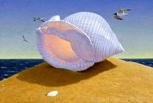 """The Shell Collection / Robert Dance's next set of limited edtion prints will be entiled """"The Shell Collection"""". Contact me for details."""