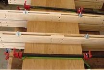 glues and clamps/ lijmen en klemmen
