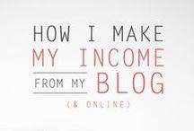 P R O  B L O G G I N G / Finding success as a self-employed creative.