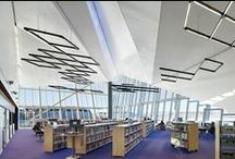 Library buildings / This will mostly highlight public libraries of interest