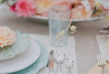 table top styling ideas / lovely ideas to create a stunning table setting