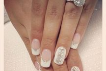 Wedding Nails / Best nails for a #wedding #bride #nails #sparkle
