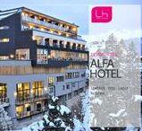 Alfa Hotel / The Alfa Hotel in Serfaus Fiss Ladis, Austria is an alpine Design Hotel. | http://lifestylehotels.net/en/alfa-hotel |