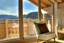 Hotel Gebhard / The Hotel Gebhard in the town of Fiss impresses guests with its fantastic location in the Tyrolean Alps. With over 2,000 hours of sunshine a year and a breathtaking view into the valley, this is where holiday dreams come true. | http://lifestylehotels.net/en/hotel-gebhard |
