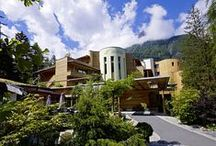 Naturhotel Waldklause / The Nature Hotel is located in the Centre of the Tyrolean Ötztal. This Hotel is for all Guests a special Wellness Experience with a 1,800 sqm natural Spa. | http://lifestylehotels.net/en/naturhotel-waldklause |