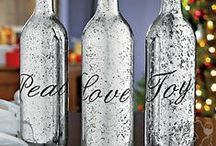 DIY Wine Decor / What do you do with your leftover Duplin bottles? Check out these easy and fun ideas!