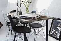 DINING AREA / Scandinavian dining areas // Follow me on Instagram @katharinaeschuler