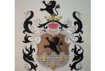 #herby szlacheckie haftowane - coats of arms embroidered / Coats of Arms - herby rodowe haftowane. Warto podtrzymywać tradycje rodzinne i wiedzieć skąd pochodzimy. Herb szlachecki nadawano za zasługi więc warto wiedzieć jakim herbem się szczycisz. U mnie możesz zamówić każdy herb w dowolnej wielkości i z dowolnym wykończeniem.