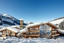 Art & Ski-In Hotel Hinterhag / Arrive - Enjoy - Relax ist the philosophy of the Art & Ski-In Hotel Hinterhag. Perched high above the town of Saalbach, the hotel has amazing view of Austria's largest skiing region, Saalbach-Hinterglemm.