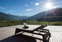 Sportresidenz Zillertal / The Sportresidenz Zillertal has a direct access to the Zillertal's first golf course – a 65-hectare, 18-hole facility for both beginners and professionals that has been in operation since June 2014. | http://lifestylehotels.net/en/sport-residenz-zillertal |