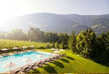 Design Hotel Tyrol /  Design Hotel Tyrol - a symbiosis of design and nature without a trace of Alpine kitsch. The hotel is the perfect place to relax, set amongst picturesque apple orchards and with magnificent views of the mountains of Texelgruppe Nature Reserve.