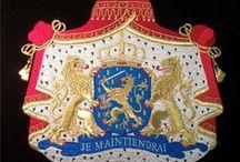 #Proporczyki i herby państwowe - haft / embroidered pennants state / Haftowane proporczyki państwowe różnych państw. Embroidered pennants and national coats of arms Jeśli potrzebujesz proporczyków - zamów u nas - biw@biw.pl