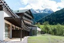 La Casies / The Mountain Living Hotel La Casies in South Tyrol draws its inspiration from the unspoilt countryside of the surrounding Gsies Valley. | http://lifestylehotels.net/en/la-casies |