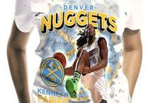 Denver Nuggets / Officially licensed NBA player graphic apparel for all of the Denver Nuggets top players.
