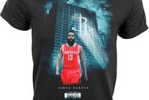 Houston Rockets / Officially licensed NBA player graphic apparel for all of the Houston Rockets top players.