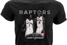 Toronto Raptors / Officially licensed NBA player graphic apparel for all of the Toronto Raptors top players.
