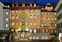 Hotel des Balances / The wonderful Hotel des Balances, a place steeped in history, lies in the heart of Lucerne's old town right on the banks of the River Reuss. | http://lifestylehotels.net/en/hotel-des-balances |