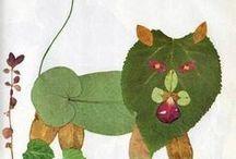 Children art crafts