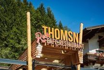Thomsn-Rock.Hotel / In the heart of Saalbach Hinterglemm, just 5 minutes from the ski lift and mountain bike trails, is the Thomsn-Rock.Hotel. Here, rock is more than just music: it is a lifestyle – cool and relaxed. | lifestylehotels.net/en/thomsn |