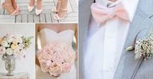 Pink and Grey Themed Wedding
