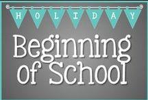 T3 Beginning of School