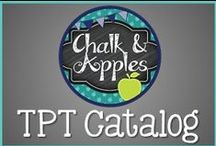 T3 Chalk and Apples TPT Store / Chalk And Apples TPT Catalog and Products