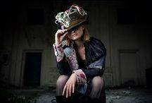 Chic Noir / redingote concept design / fashion photography