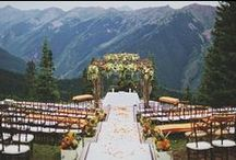 Rustic Northern Weddings / For those lovers of the mountains, forests, and snowy landscapes of the wild north.
