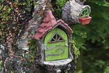 Fairy Doors, Elf Doors & Gnome Doors / A tiny door to an enchanted world.  Which is your favorite magical door?  www.fairygardeningaustralia.com.au