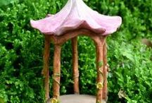Fairy Gazebos, Tents & Pavilions / Find the perfect fairy Gazebo,Tents OR Pavilions here.  All magical fairy gardens need a place for shade OR Fairy get together's. #fairygardeningaustralia