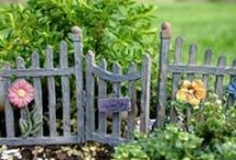 Fences & Ladders / Fancy a picket fence, perhaps a rock wall to finish off that perfect fairy garden?? MAYBE a ladder to allow those playful fairies get from here to there?? Look no further.. These pieces are a perfect fit for your Fairy garden. www.fairygardeningaustralia.com.au