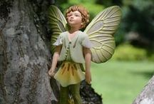 Flower Fairies™ / The Flower Fairies... Enchanting and stunning fairies to enhance the beauty in your fairy garden.  Too many favourite Fairies to choose from. #fairygardeningaustralia