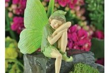 Classic Fairies, Gnomes & Enchanted Friends / All FAIRIES.. Gnomes and enchanted friends to add to your Fairy Garden. Its all about fairy magic.