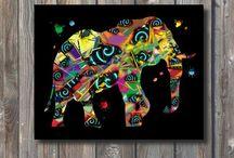 Printable Wall Art-Happy Walls / Home Decor, printable wall art, wall prints