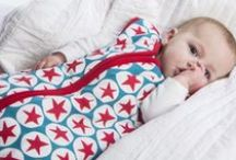 Little Fishkopp Products / Super soft, organic sleep bags with unique Nordic designs and bright colors. Helping babies sleep safer and better with style.