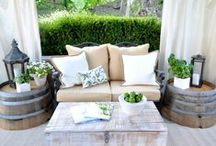 Outdoor Spaces / Patio and outdoor inspiration.