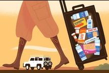 How to Travel Safe and Smart / Tips and products for how to stay safe on the road, minimize spending and stress, and make the most of your trip.