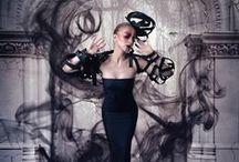 Unravel / http://tomamoisii.com  Model: Kiara Firan MUA: Tania Creciun Dress: Thais & Stroe