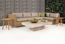 Outdoor Seating Collections / Our Outdoor Seating Collections bring luxury to your outdoor space at an affordable price, with Sunbrella® cushions included. Discover your perfect patio furniture at one of our showrooms in Los Angeles, Monrovia, and San Diego or at teakwarehouse.com