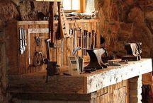 Workshop/Garage / Garage and home shop ideas / by Matt Talley