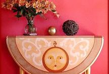 Painted Furniture and Faux Effects / Uniquely beautiful painted furniture, walls or floors