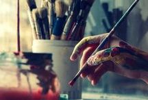 I <3 art! / This is the essence of my soul <3