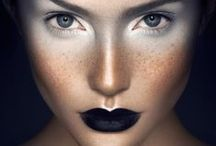Make-up is powerful! / Make-up is a form of art; skin is a form of canvas.