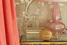 Wallpapered Lavishness / The appeal of wallpaper when ordinary color isn't enough