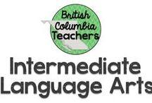 Intermediate Language Arts / Ideas for teaching Language Arts in the Intermediate grades.