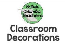 Classroom Decorations / Ideas to inspire your classroom decor!