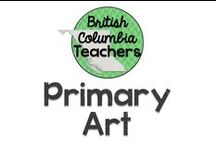 Primary Art / Visual art ideas for the primary classroom.