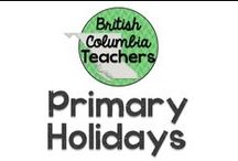 Primary Holidays / Ideas for celebrating holidays in a primary classroom.